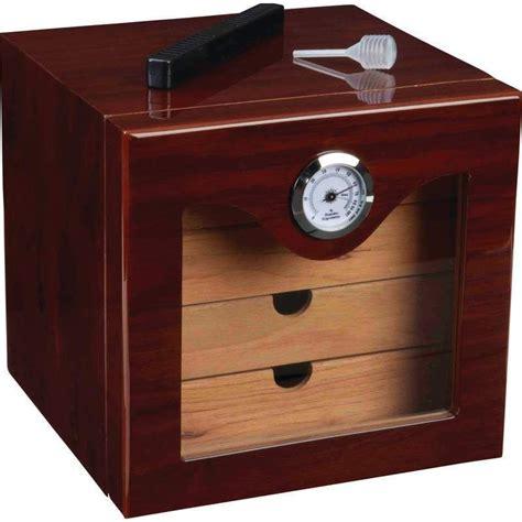 humidity for humidor kassel cedar lined humidor cigar humidifier w hygrometer