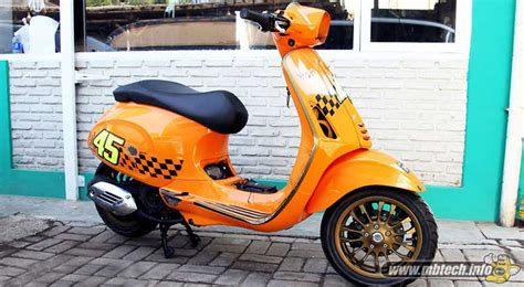 Modifikasi Jok Vespa Lx by Vespa