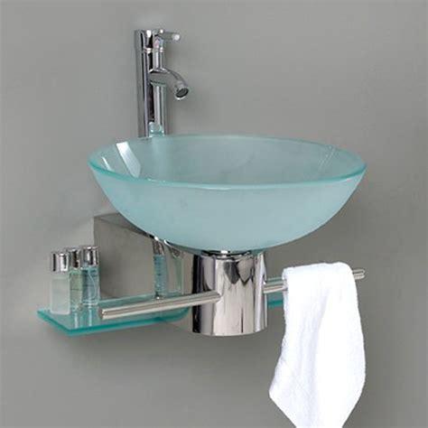 bathroom vanity with glass top shop fresca vetro stainless steel single vessel sink