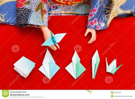 origami lessons for free origami lesson royalty free stock images image 13441339