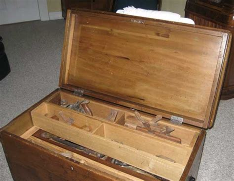 woodworking tool box antique woodworkers tool box plans diy free yard