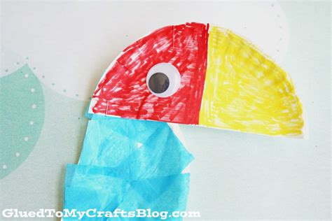 how to make parrot with craft paper paper plate parrot kid craft glued to my crafts