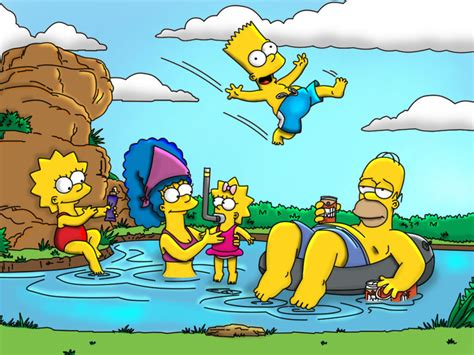 the simpsons simpsons the simpsons wallpaper 31838681 fanpop