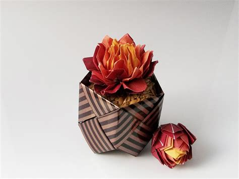 origami flower pot 42 beautiful origami flowers that look almost like the
