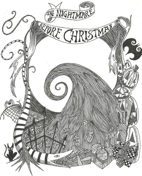 tim burton s the nightmare before coloring book for everybody 169 best images about tim burton on