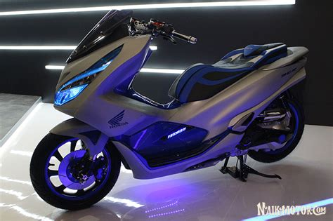 Pcx 2018 Gold Modifikasi by Modifikasi Honda Pcx Futuristic Techno Besutan Zone