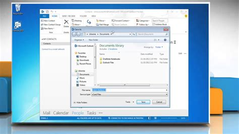 how to make a v card how to create a vcard in microsoft 174 outlook 2013