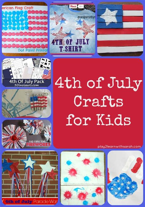 4th of july kid crafts 4th of july crafts for up and thyme