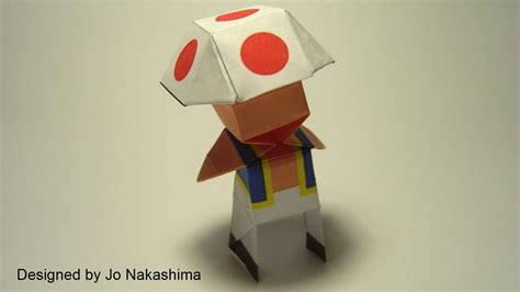origami mario videogame origami part 2 nintendo and square enix