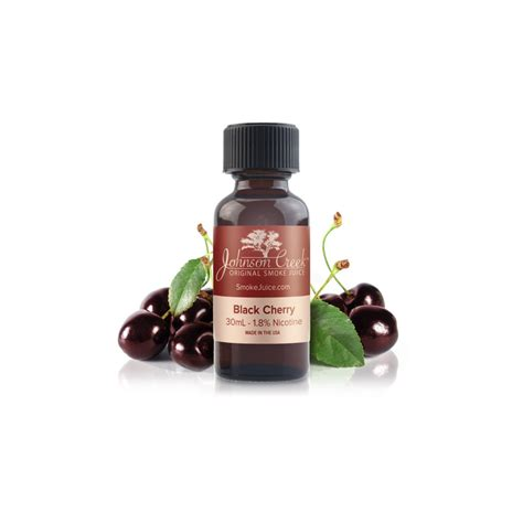 black cherry e liquid by johnson creek the electric tobacconist 174 usa