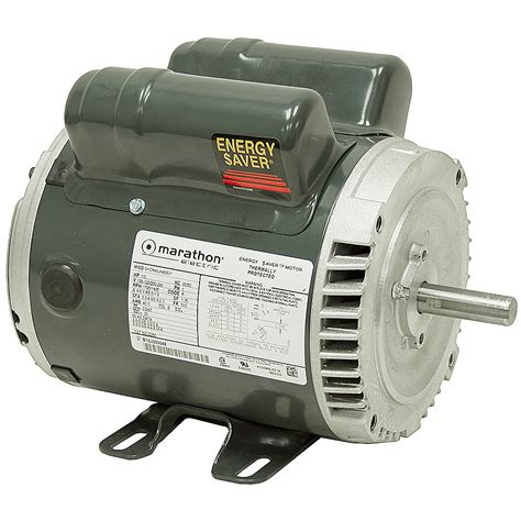 Volt Electric Motor by 1 3 Hp 1725 1425 Rpm 100 120 200 240 Volt Ac Motor