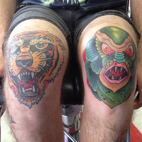 amazing knee tattoos tattoos mob