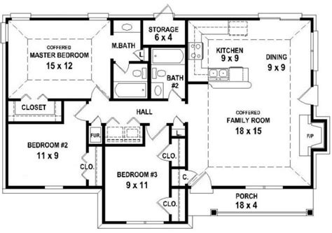 2 bedroom house floor plans 2 bedroom house plans open floor plan 21 photo gallery
