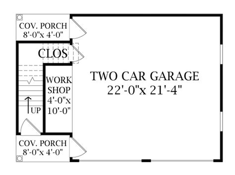 2 story floor plans with garage two story garage 6332 the house designers