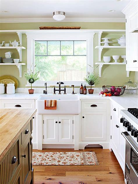 country kitchen white cabinets 35 country kitchen design ideas home design and interior