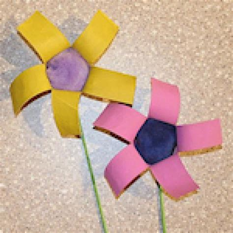 toilet paper roll flowers craft 14 toilet paper roll flowers craft ideas guide patterns