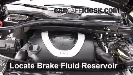 Mercedes Brake Fluid by 2007 2012 Mercedes Gl450 Brake Fluid Level Check