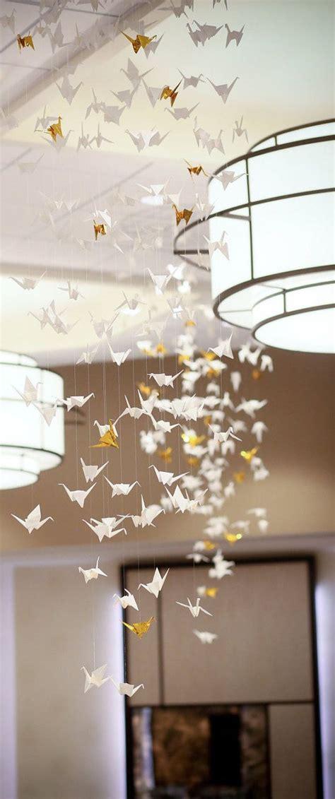 paper origami decorations best 20 origami cranes ideas on