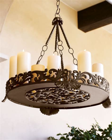 outdoor iron chandelier outdoor candle chandeliers wrought iron decor ideasdecor
