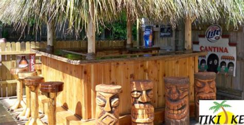 bar accessories for sale tikikev tiki bars huts tables and accessories for sale