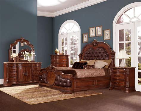 homelegance bedroom furniture homelegance antoinetta upholstered bedroom set warm
