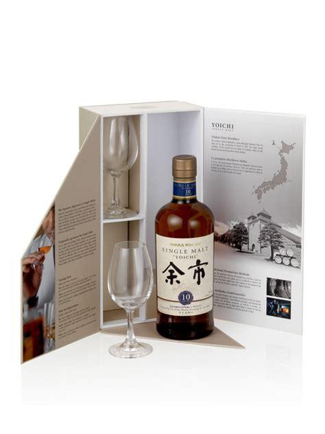 whisky yoichi 10 ans coffret 2 verres 45 maison du whisky