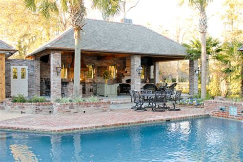 house plans with pools and outdoor kitchens lake at white oak outdoor kitchen