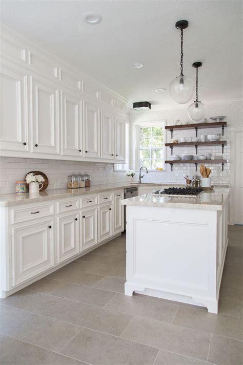 white kitchen flooring ideas 18 beautiful exles of kitchen floor tile