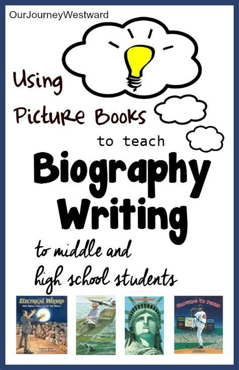 picture books to teach writing using picture books to teach biography writing our