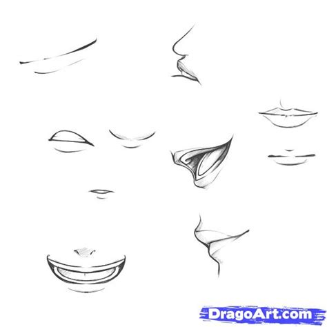 how to draw mouths step 11 how to draw mouths