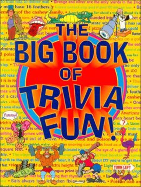big book of the big book of trivia by staff of books