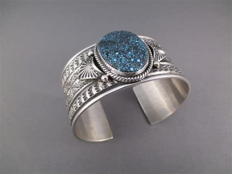 silversmith jewelry reeves kingman turquoise bracelet navajo jewelry