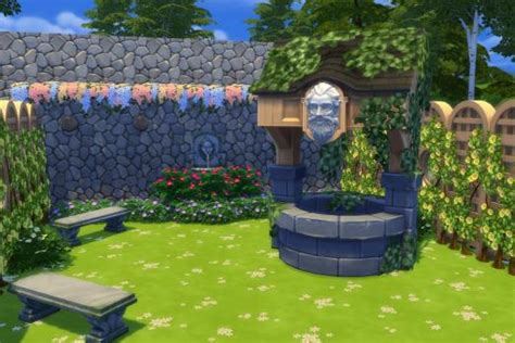 sims 4 olive garden the sims 4 stuff pack review garden brings more landscape objects wishing well
