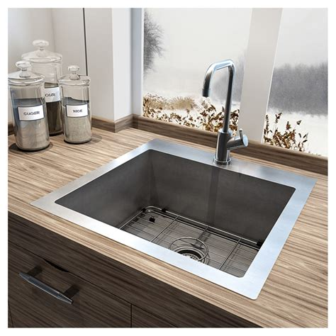 single kitchen sink stainless steel single kitchen sink rona