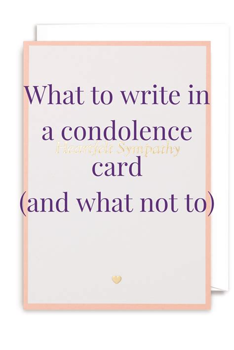make a sympathy card sympathy messages what to write in a condolence card