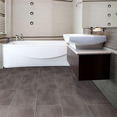 modern bathroom flooring 30 amazing ideas and pictures of the best vinyl tile for