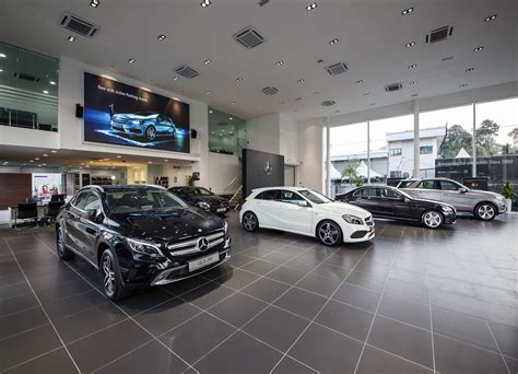 Mercedes A Service by Mercedes City Service Opens In Kuala Lumpur