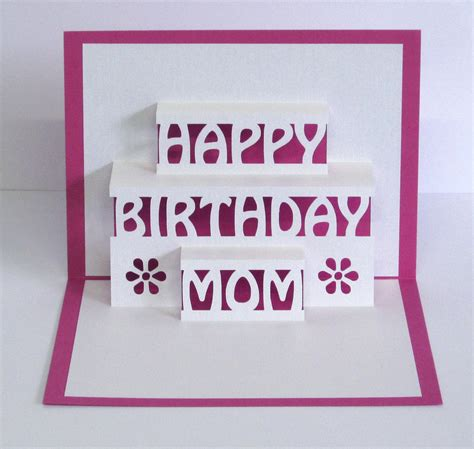 how to make a happy birthday pop up card birthday card 3d pop up happy birthday card
