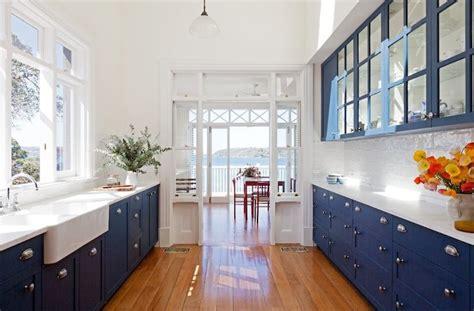 blue base kitchen cabinets design ideas