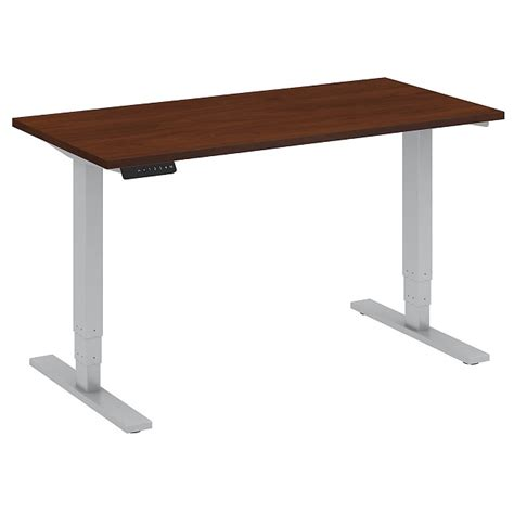 height standing desk bush business furniture height adjustable standing desk