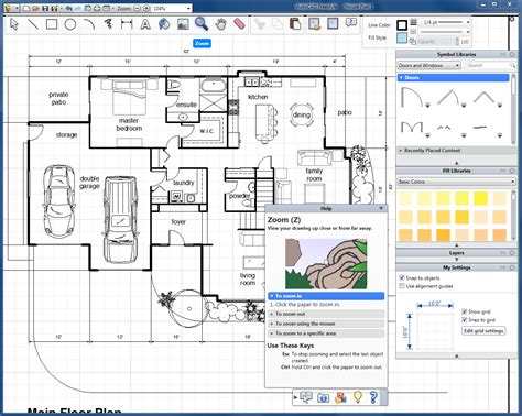 house design software 2d autocad freestyle version software