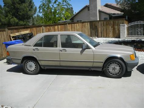 auto air conditioning service 1985 mercedes benz w201 user handbook find used 1985 mercedes benz 190e 2 3 sedan 4 door 2 3l in apple valley california united