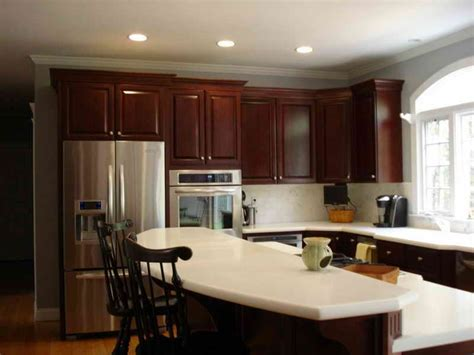 paint colors for kitchen with cherry cabinets brighter kitchen paint colors with cherry cabinets