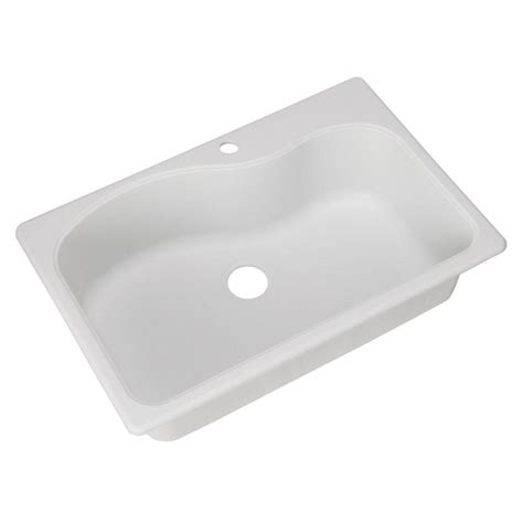 white composite kitchen sinks franke dual mount composite granite 33x22x9 1 single