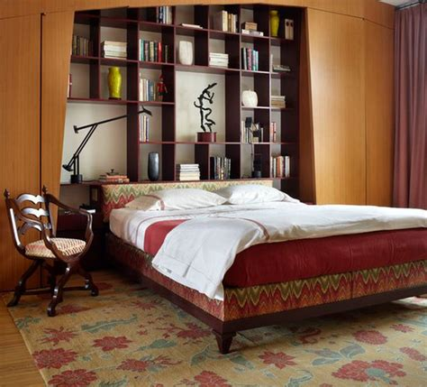 headboards with bookshelves clever furniture combinations bookcase headboards