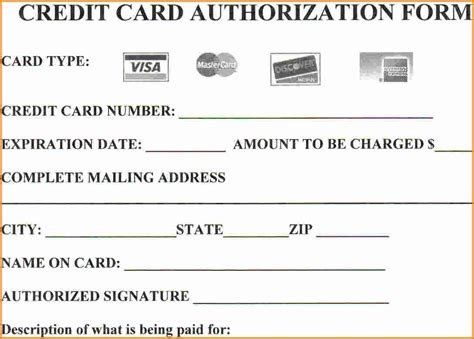 how to make payment on credit card 15 credit card authorization form template free