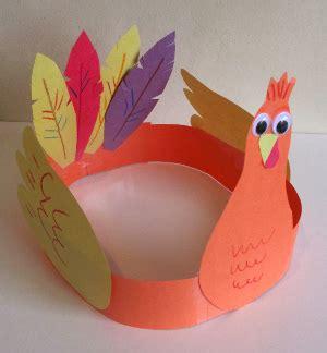 hat crafts for turkey hat craft all network