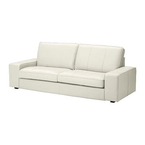 ikea white leather sofa kivik sofa grann bomstad white ikea