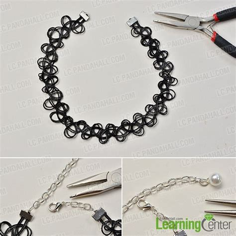 cool jewelry to make how to make a cool black stretchy choker necklace
