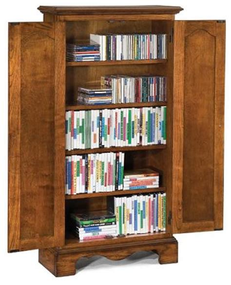 dvd storage cabinets wood oak wood cd dvd media storage cabinet in a country